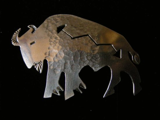 Buffalo Lightning Pendant
