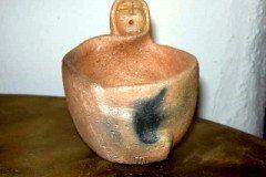 Jessie Marcus Elder Mug Sculpted Pueblo