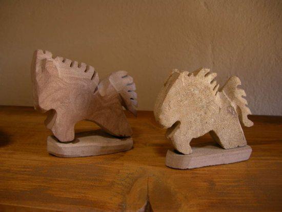 Roughface Sandstone Horses 1
