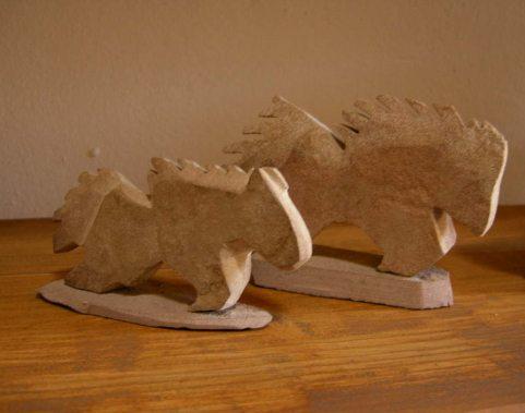 Roughface Sandstone Horses 2