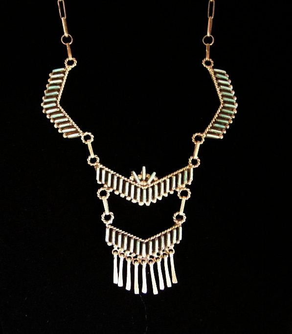 Zuni Chandelier Necklace