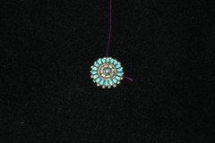 Zuni Needlepoint Pendant Brooch