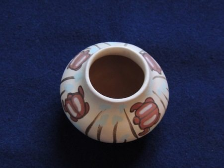 Scarab Miniature Pot Resized - Top View
