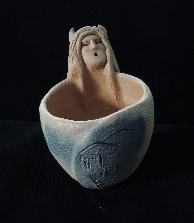 Buffalo Warrior Pueblo Mug