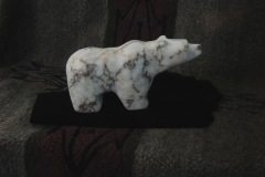 Large Spiderweb Alabaster Bear 2014 Resized