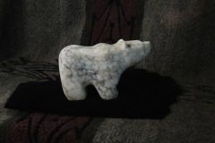 Medium Spiderweb Alabaster Bear B 2014 Right Side Resized