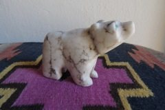 Spiderweb Alabaster Bear Cub 2013