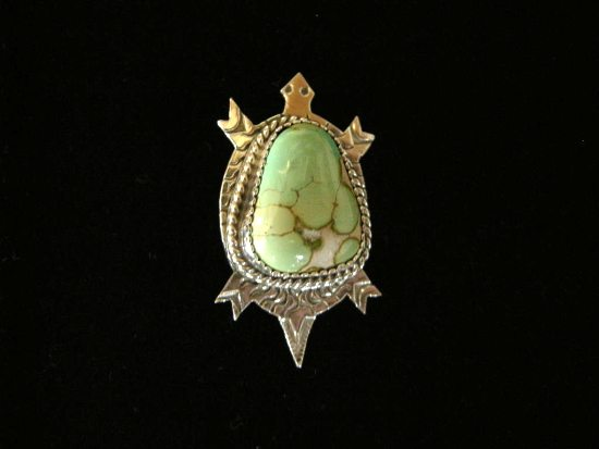 Turtle Peak Hat Pin