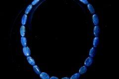 Lapis Bead Necklace B 2 Resized