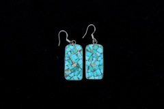 Turquoise Heartline Inlay Earrings Resized