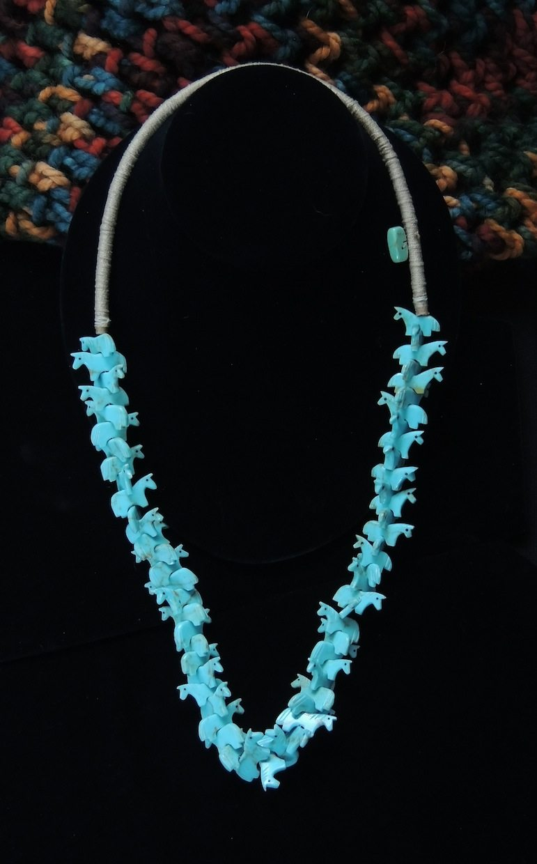 Turquoise Horse Fetish Necklace 3 Resized