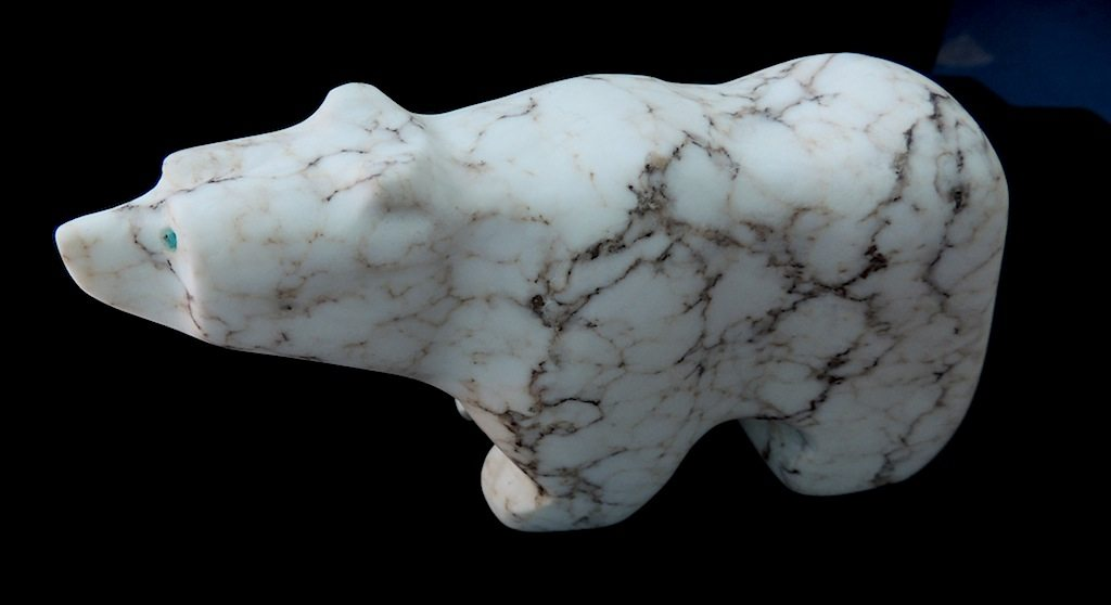 Spiderweb Alabaster Juvenile Bear 1 Left Side Resized