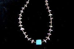 Spiny Oyster Child Necklace Close-Up