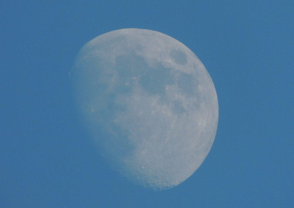 Three-Quarter Moon Resized