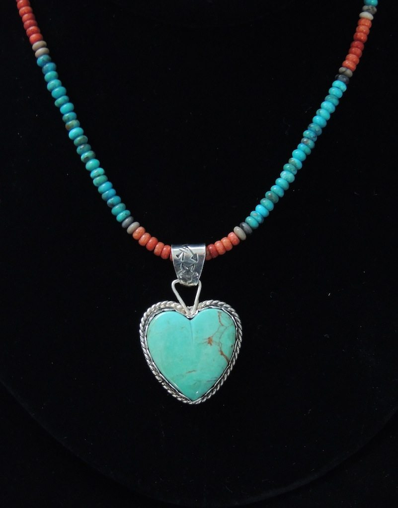 Cripple Creek Heart On Beads Front Resized