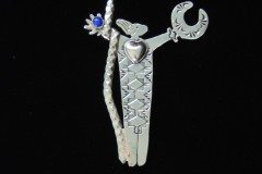 Flowering Winds Warrior Woman Pin Resized