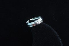 Plain Starburst Ring Top View Resized