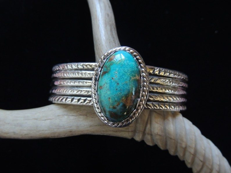 Blue Whirlwind Cuff Top Resized