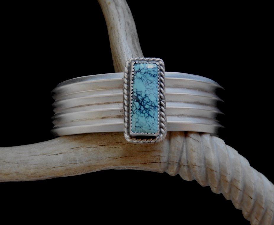 Storm-Webbed Sky Cuff Bracelet
