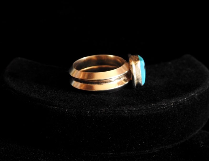 The Four Corners of the Sky Ring Side View