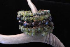 Sage Coil Bracelet