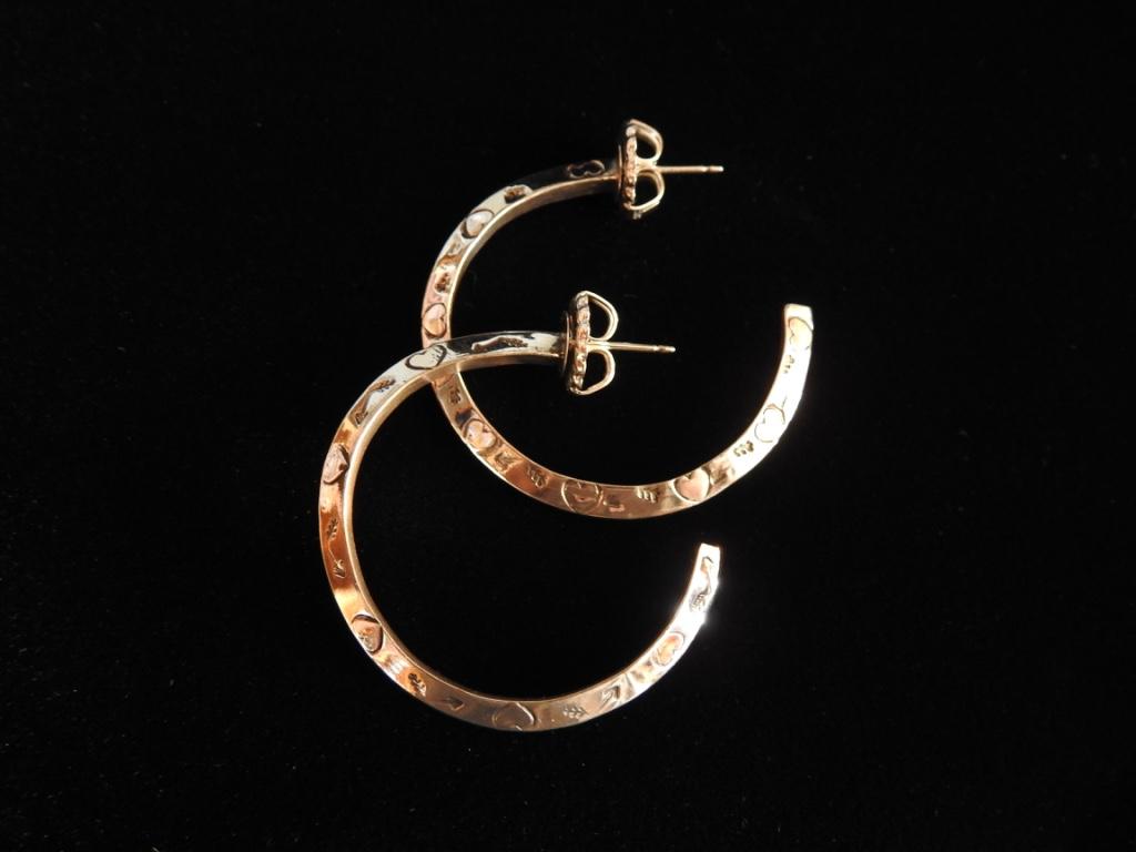 The Way of Love Hoop Earrings