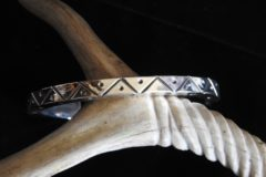 When the LIghtning Comes Cuff Bracelet Top View