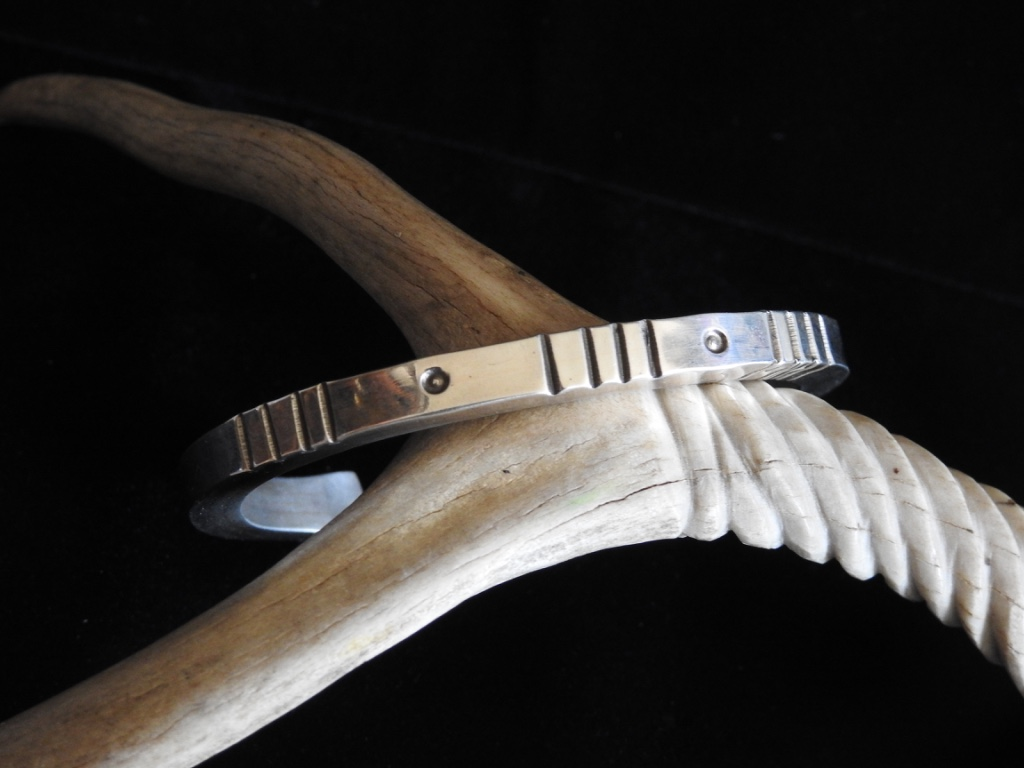 Wind and Water Cuff Bracelet Top View