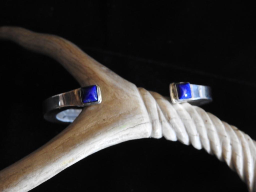 Wind and Water Cuff Bracelet Underside