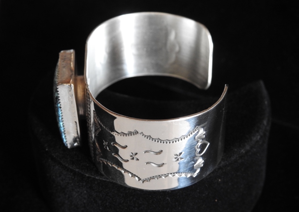 Indian Summer Dreams Cuff Bracelet Elevated Side View