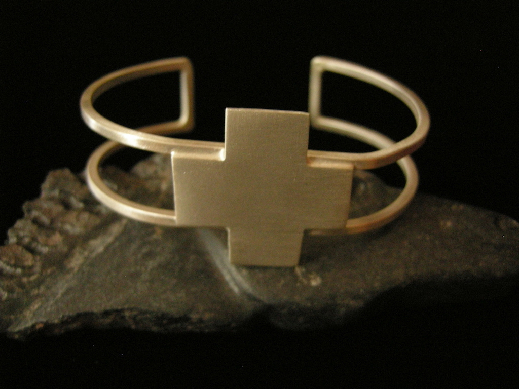 Dual Strand Four Directions Cuff Bracelet A Resized