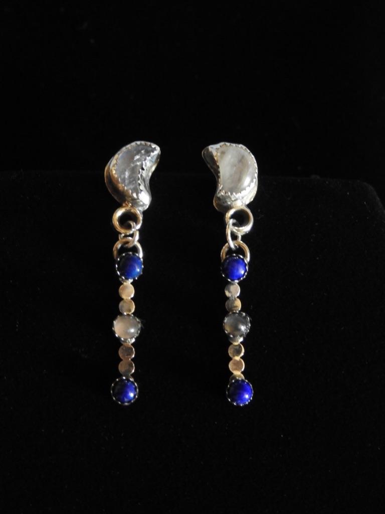 Dust of a Blue Moon Series Earrings