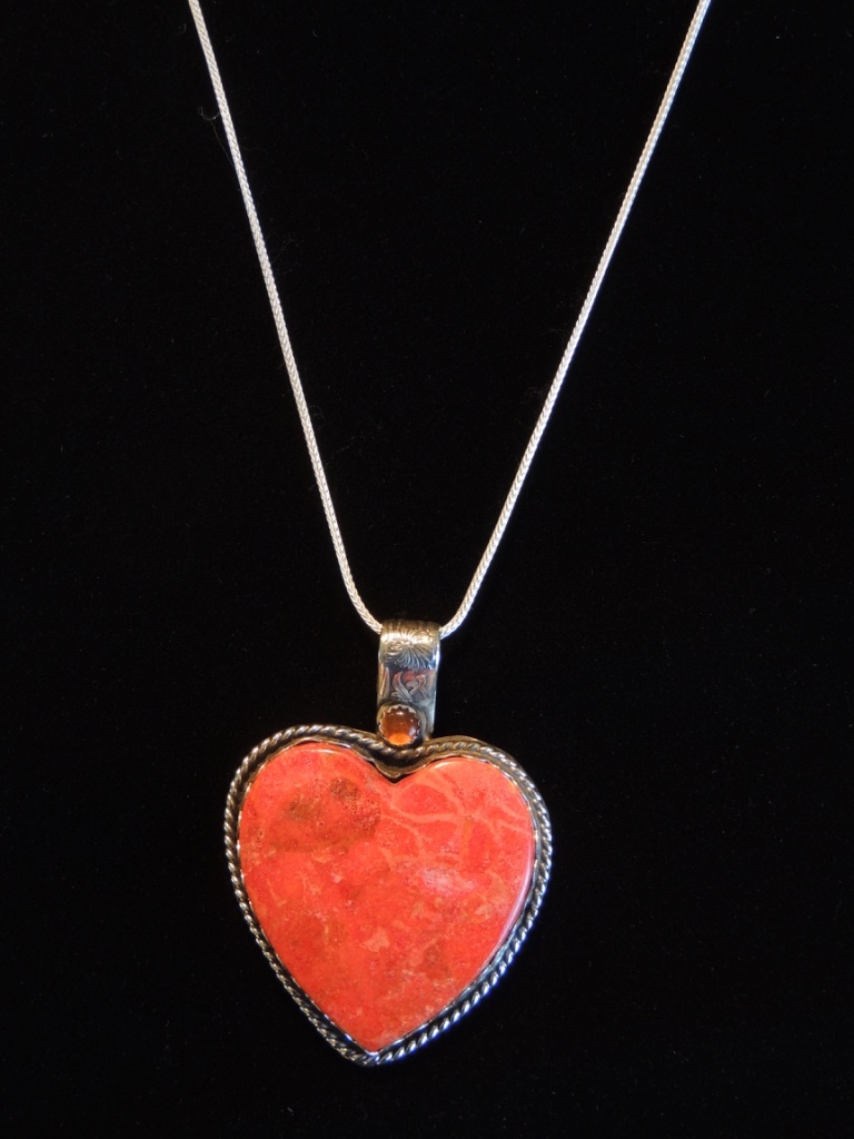 Sunlit Heart Necklace