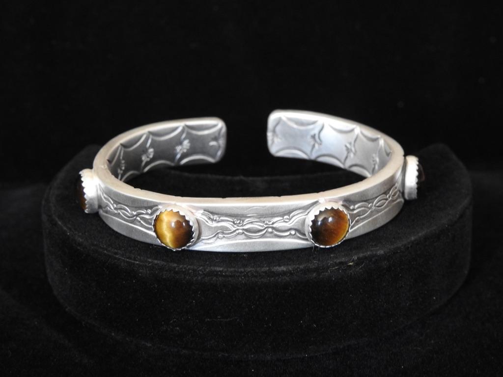 Braided Suns Cuff Bracelet
